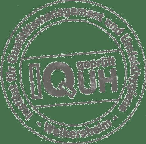 KalkKind Qualtitätssicherung Stempel