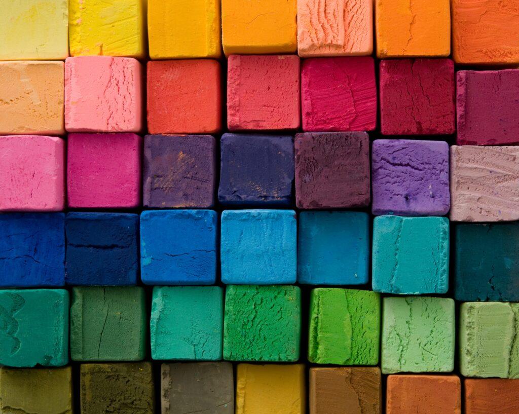 Foto Farbvielfalt mit Kalkputzen